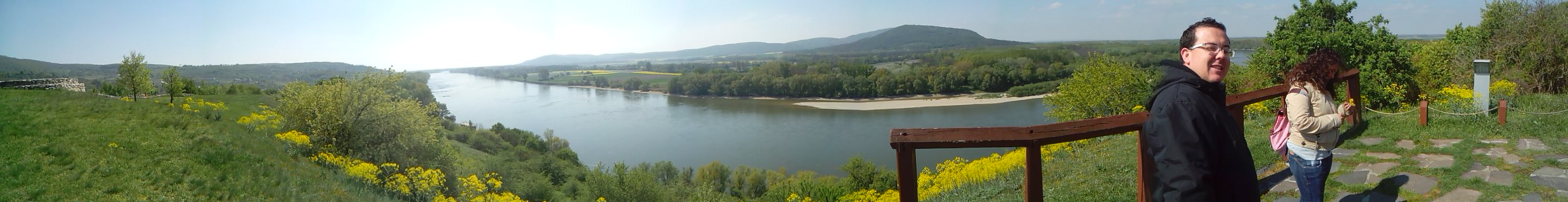 Vistas desde el Castillo de Devin - Bratislava (Eslovaquia)