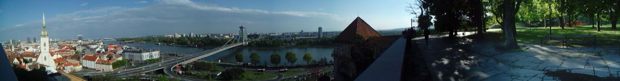 Panorámica de Bratislava - Eslovaquia