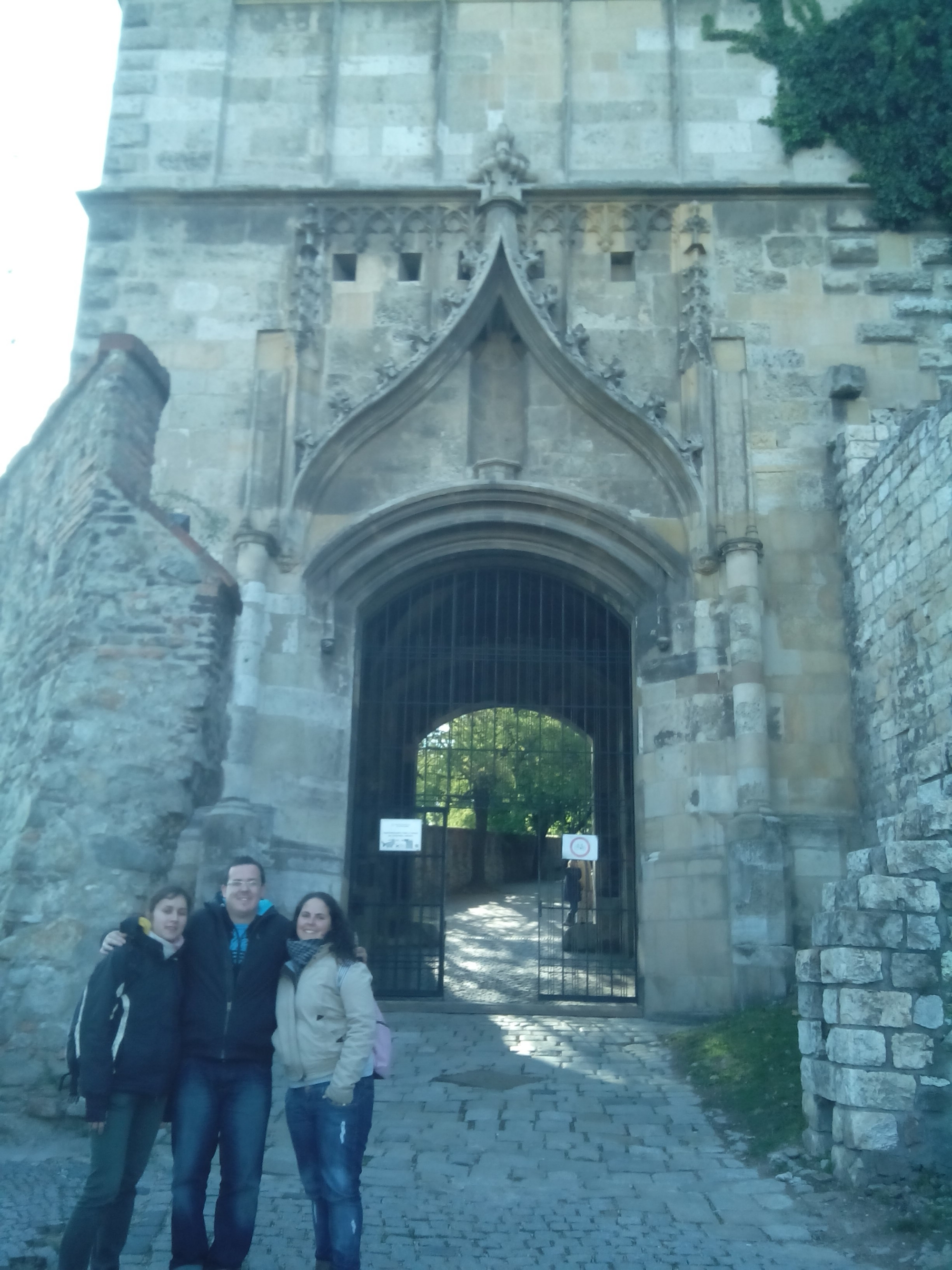 Entrada al Castillo de Bratislava