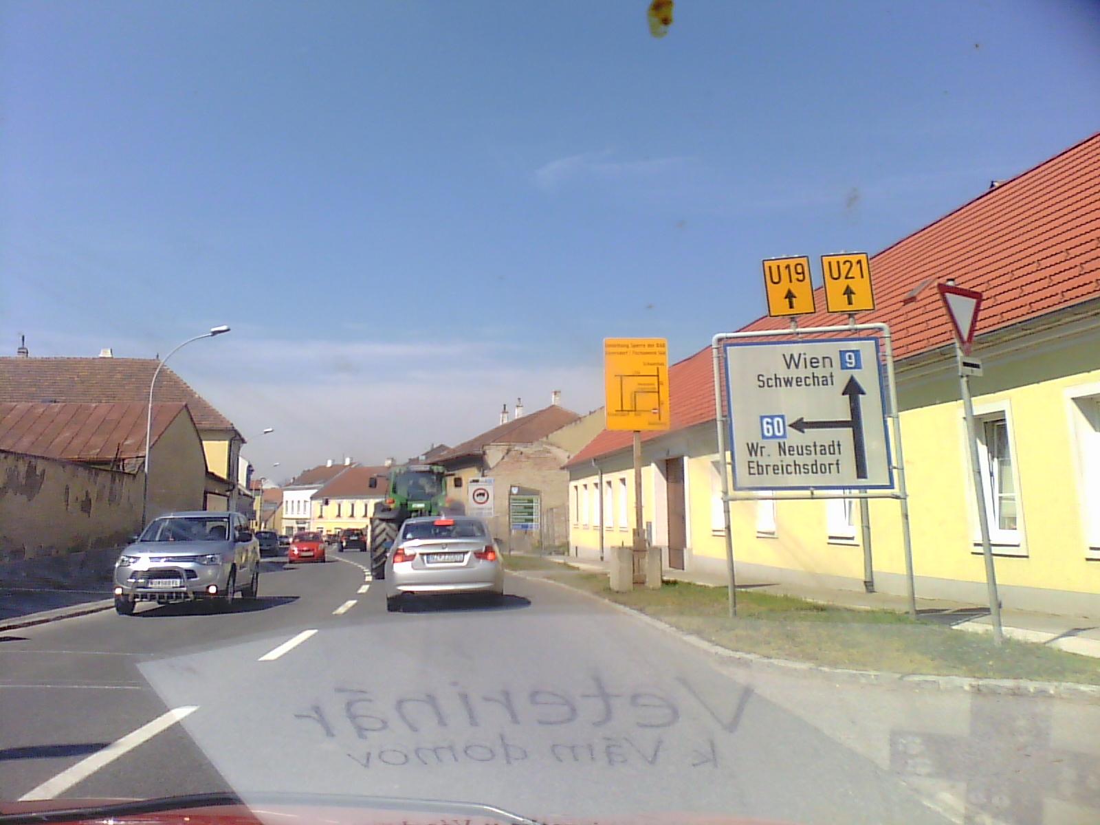 A Viena desde Bratislava