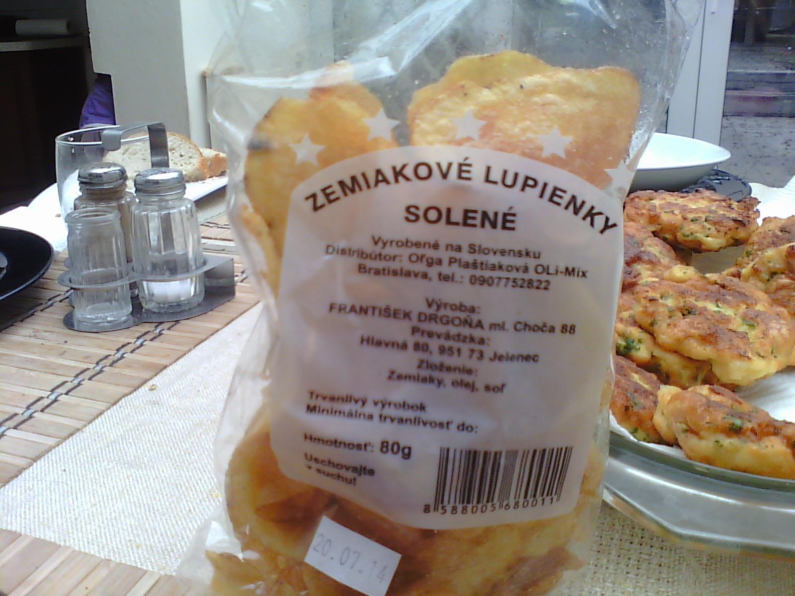 Patatas fritas en Eslovaquia Zemiak