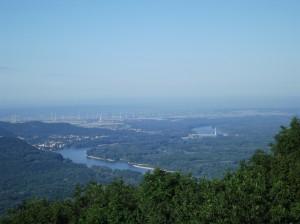 Las vistas desde la montaña más alta de Bratislava