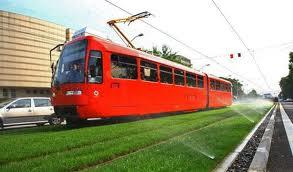 Tranvía en Bratislava (Eslovaquia)