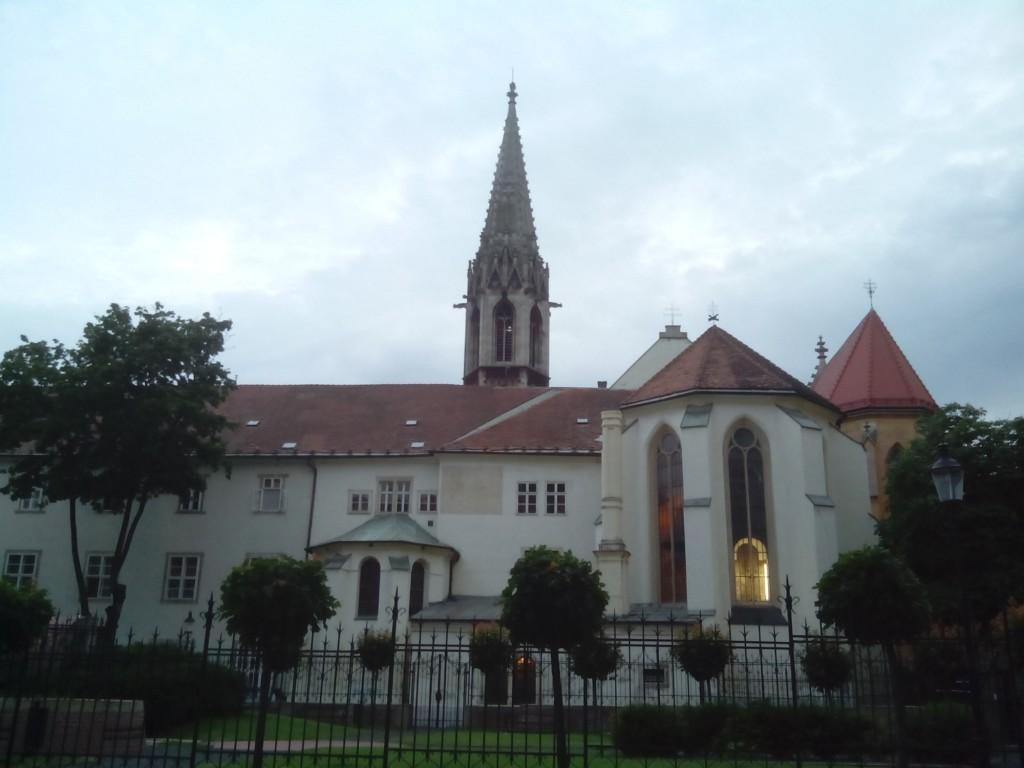 Torre de los franciscanos en Bratislava